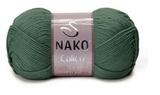 Пряжа Nako Calico хаки 5306