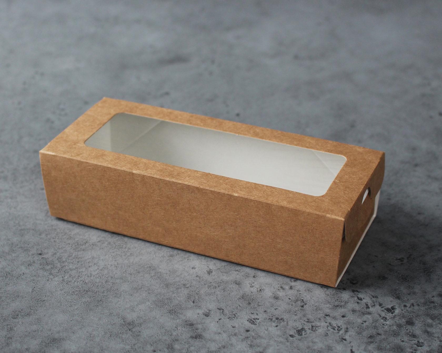 Коробка для макаронс 17х7х4см