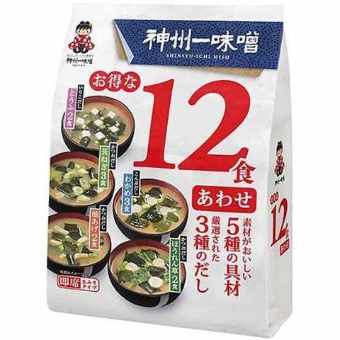 Мисо-суп Миасяка Miyasaka 12 порций с пониженным содержанием соли 181,1гр