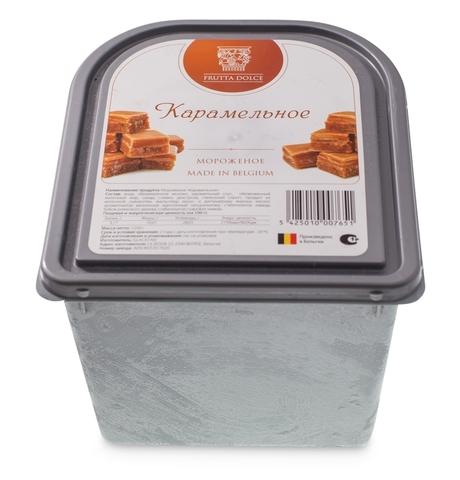 Мороженое карамельное Фрутта Дольче 2,4 литра (Бельгия)