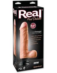 Вибромассажер реалистик на присоске Real Feel Deluxe 9,5 No.9 водонепронецаемый
