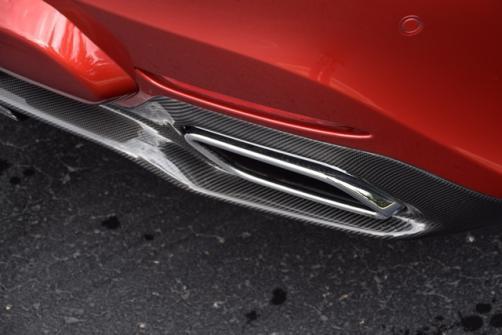 Карбоновый диффузор для Mercedes AMG-GTS