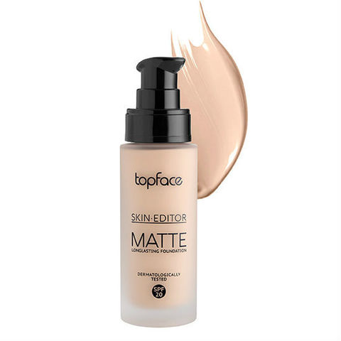 Тональная основа Skin Editor Matte, TopFace РТ 465 -04