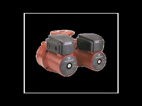 Сдвоенный насос - Grundfos UPSD 50-180 F со встроенным релейным модулем (400 В)
