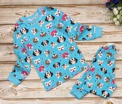 24D-5 пижама детская, голубая