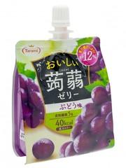 Желе питьевое Tarami Конняку со вкусом Винограда 150 гр.