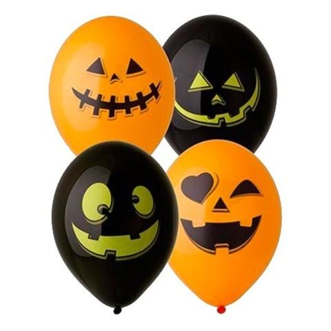 Воздушные шары на Хэллоуин Тыквы, 36 см