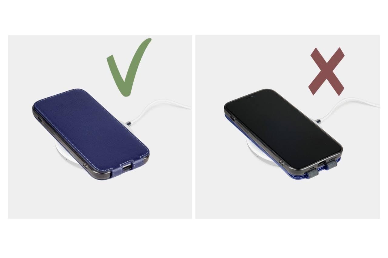 Case for iPhone 12 Mini - python blue