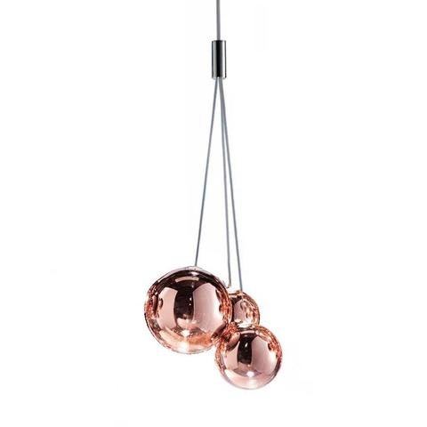 Подвесной светильник копия Random by Studio Italia Design (розовое золото)