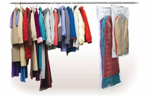70*150 см с вешалкой вакуумный пакет для длинной одежды