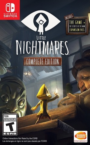 Little Nightmares. Complete Edition (Nintendo Switch, русские субтитры)