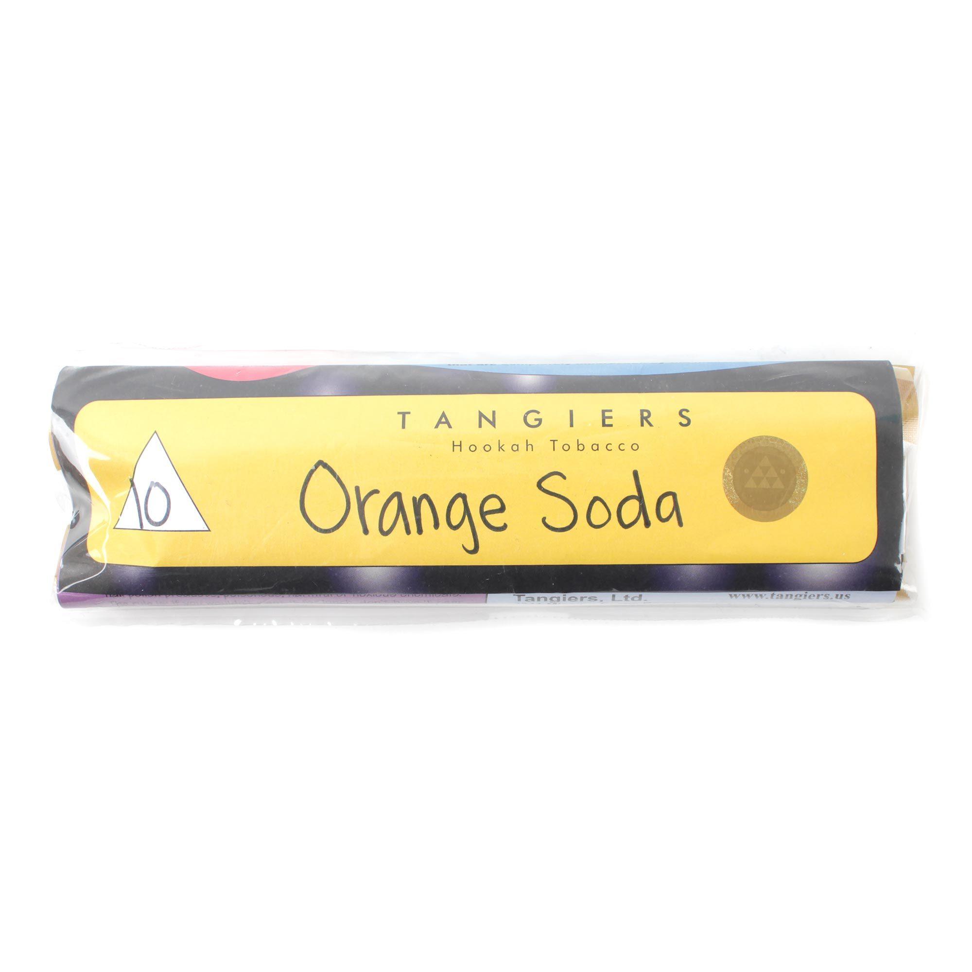 Табак для кальяна Tangiers noir (желт) 10 Orange Soda 250 гр.