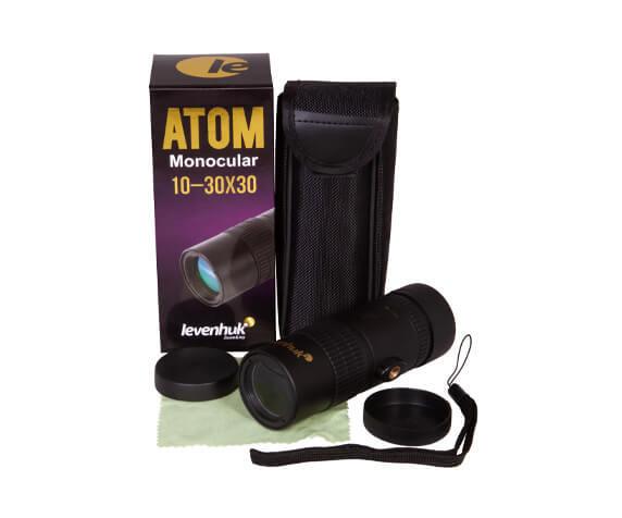 Монокуляр Levenhuk Atom 10–30х30 - фото 3