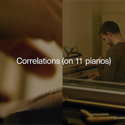 Carlos Cipa / Correlations - On 11 Pianos (CD)