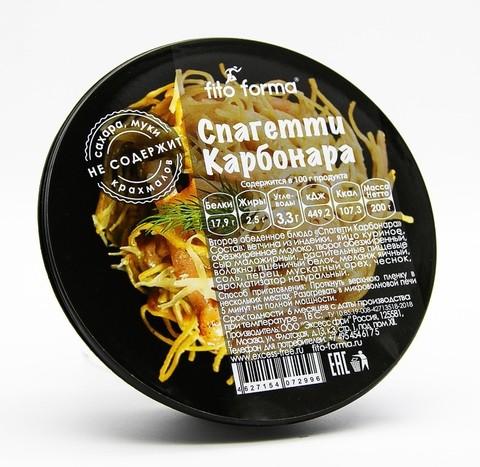 Низкоуглеводные спагетти Карбонара