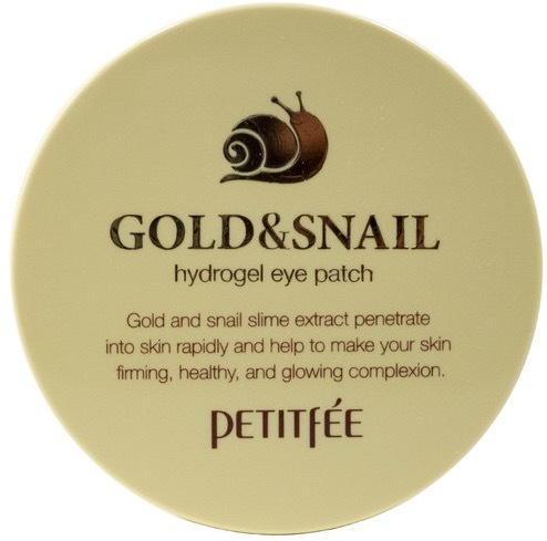 Petitfee Gold & Snail Hydrogel Eye Patch патчи для глаз