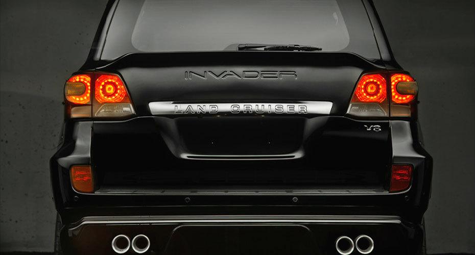Обвес Invader T30 для Toyota Land Cruiser 200 Копия