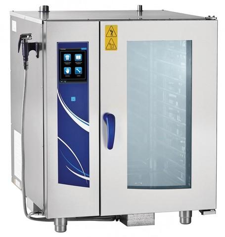 Пароконвектомат ABAT ПКА 10-1/1ПП2 (модернизированный ПКА-10-1),  10 уровней GN1/1   840x800x1055 мм