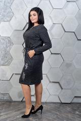 Марсія. Батальне плаття з ангори. Чорний
