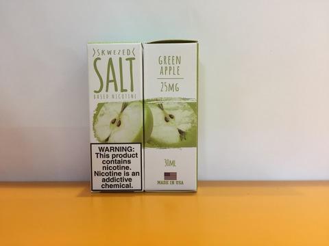 Green apple by Skwezed salt 30мл