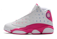 Air Jordan 13 GS 'White/Pink'
