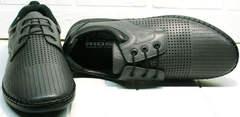Перфорированные туфли мокасины летние мужские Ridge Z-430 75-80Gray
