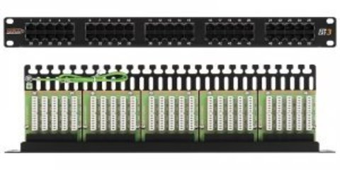 Патч-панель NIKOMAX NMC-RP50UC3-1U-BK