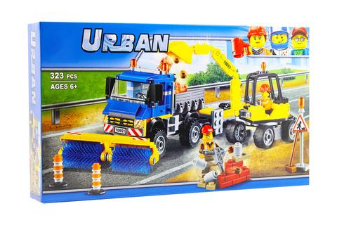 Конструктор Urban 10651 Уборочная техника
