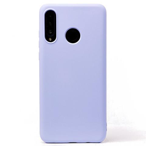 Чехол для Huawei Honor 20S/20 Lite/P30 Lite Софт тач мягкий эффект | микрофибра светло-фиолетовый