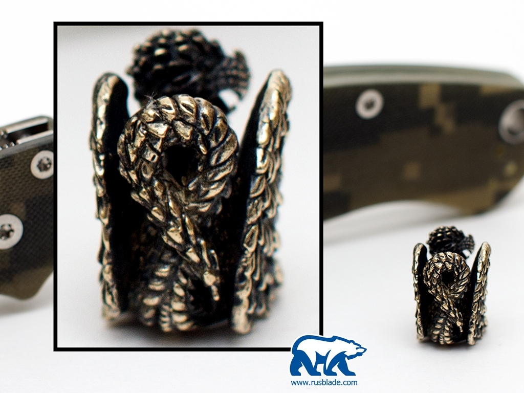"Custom Sword Knot ""Griffin"" Limited Edition - фотография"