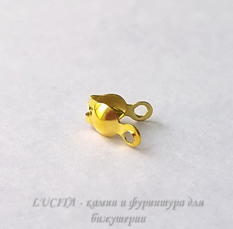 Каллоты 8х4 мм (цвет - золото), 20 штук (WP_20140723_14_28_27_Pro)