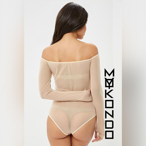 MyMokondo Offshoulder Body (Бежевый, L)