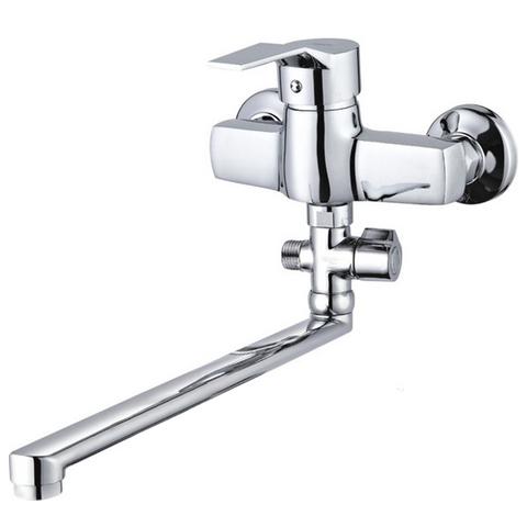 Смеситель для ванной однорычажный Zegor EDN-A с поворотным изливом