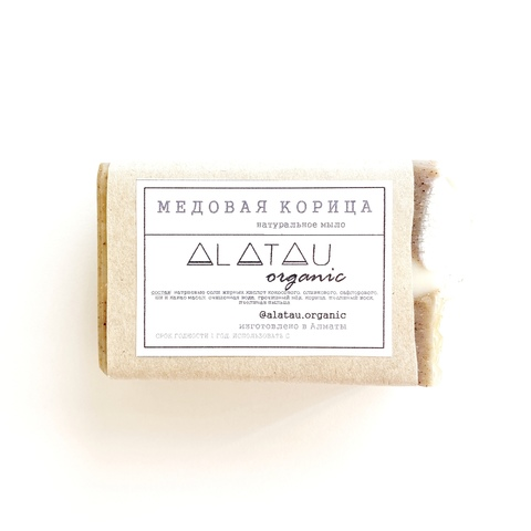 Мыло Медовая корица (Alatau Organic)