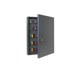 Шкаф для ключей Onix К-130 темно-серый (на 130 ключей, металл)