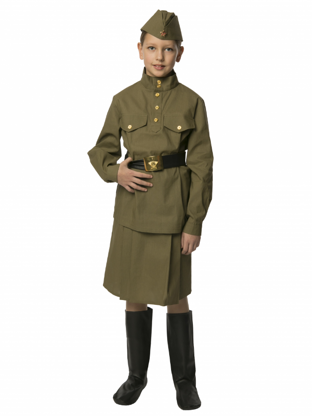 Военная форма Солдатка подростковая (бязь)