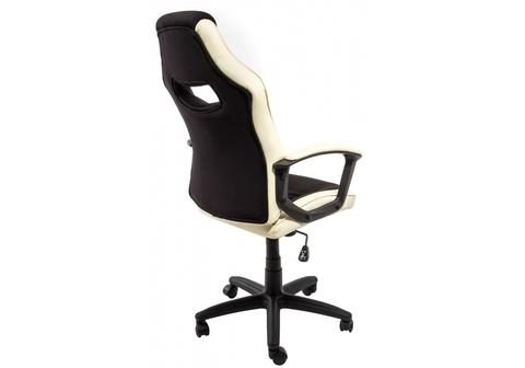 Офисное кресло для персонала и руководителя Компьютерное Gamer черное / бежевое 62*62*107 Черный / бежевый