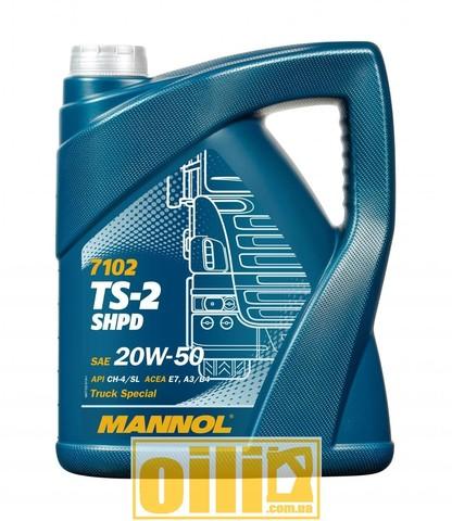Mannol 7102 TS-2 SHPD 20W-50 5л
