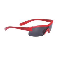 Очки спортивные BBB Kids PC smoke lens блестящий красный