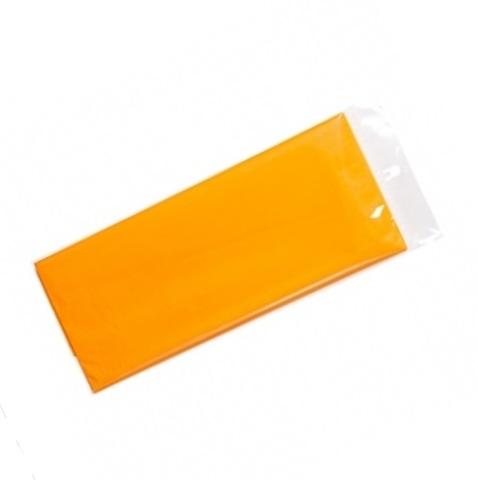 Бумага тишью 10 шт., 50x66 см, цвет: светло-оранжевый