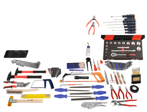 Набор инструментов для монтажника, 110 предметов без контейнера