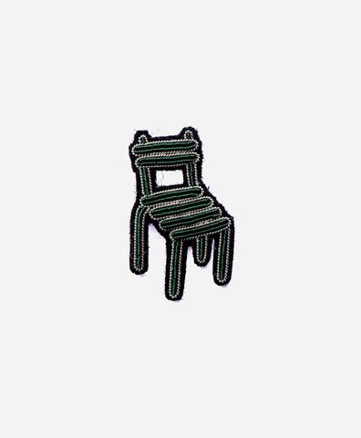 Брошь Garden chair