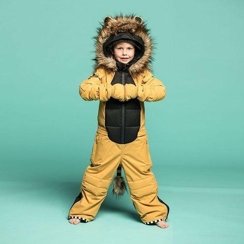 Комбинезон WeeDo Lion Golden Brown (лев)