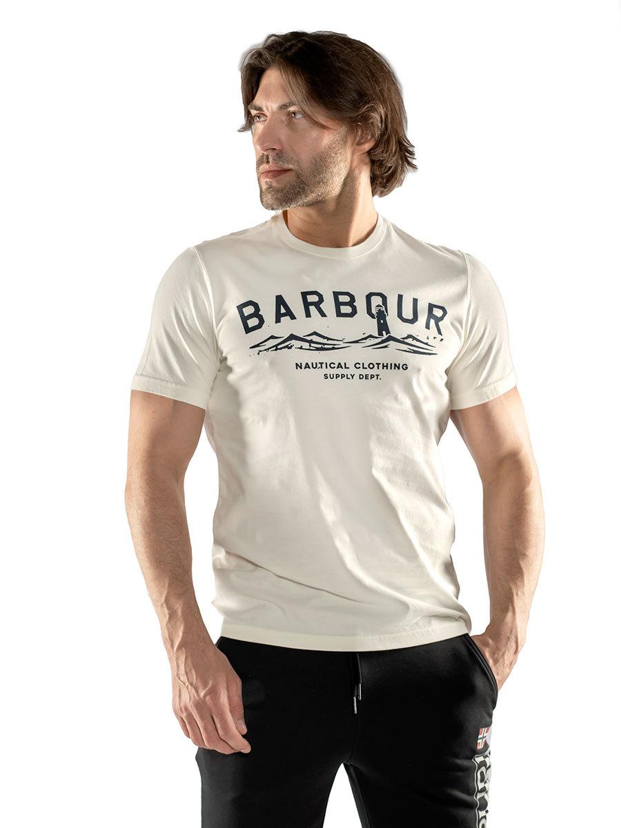 Barbour футболка Bressay Tee MTS0532/WH32