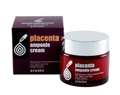 Крем для лица с экстрактом плаценты Zenzia