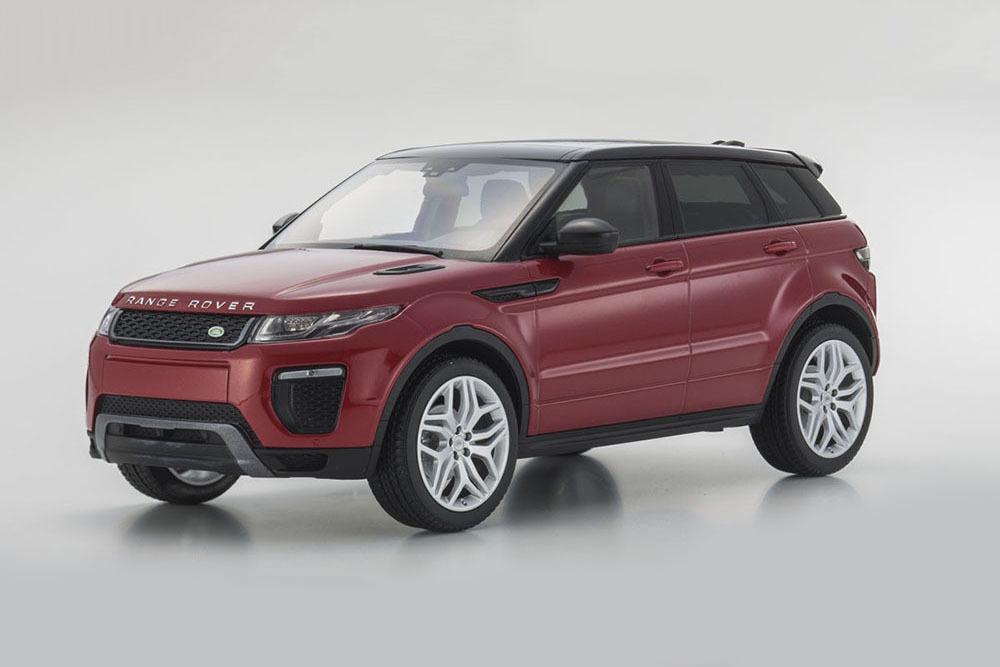 Коллекционная модель Range Rover Evoque 2016 Firenze Red