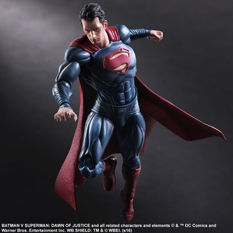 Бэтмен против Супермена фигурка Супермен (копия) — Batman v Superman Dawn of Justice Superman Play Arts Kai (copy)
