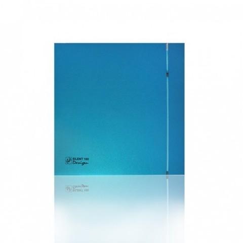Накладной вентилятор Soler & Palau SILENT 100 CHZ DESIGN SKY BLUE (датчик влажности)