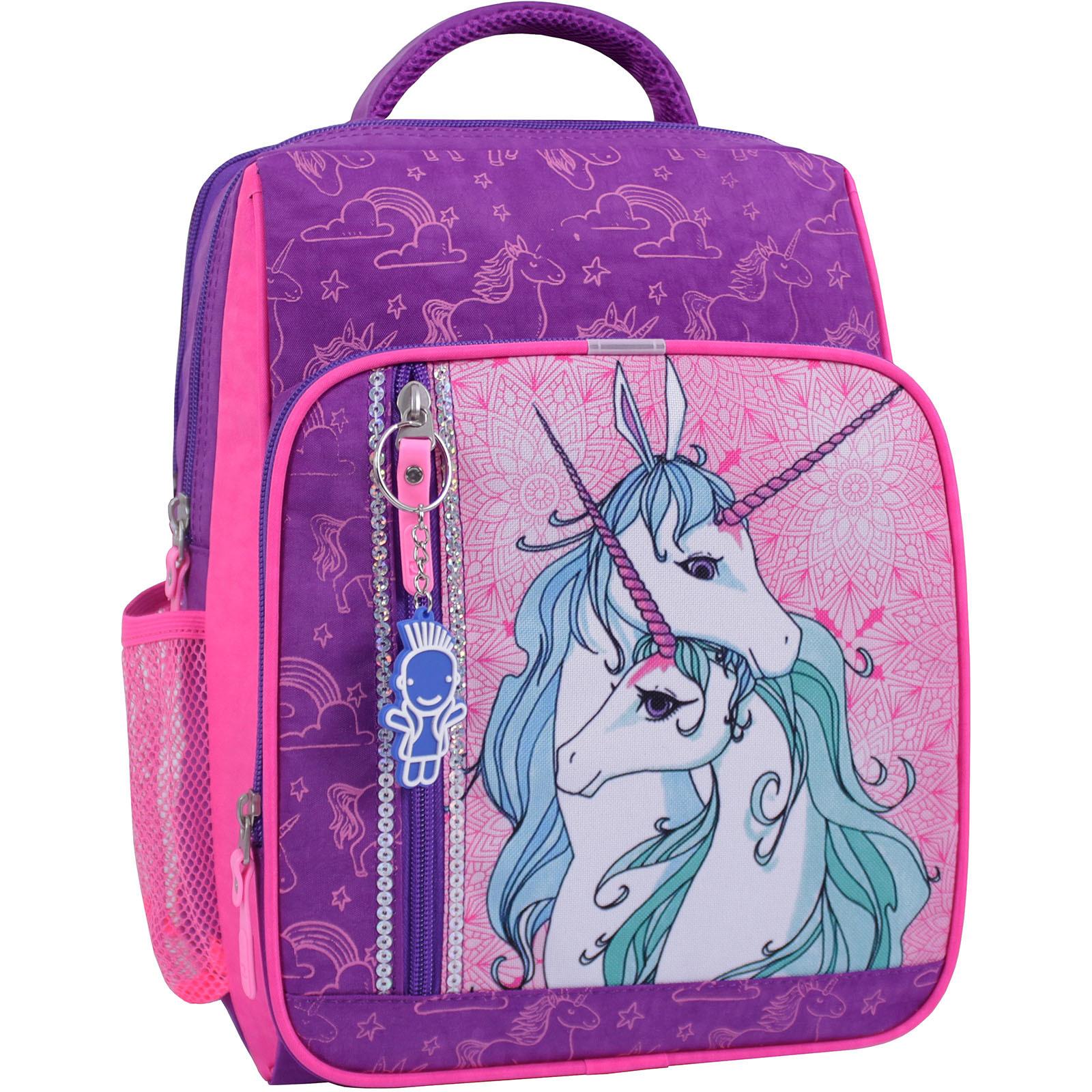Детские рюкзаки Рюкзак школьный Bagland Школьник 8 л. фиолетовый 596 (0012870) IMG_1082_суб.596_.JPG