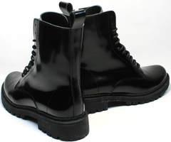 Молодежные зимние ботинки женские Ari Andano 740 All Black.